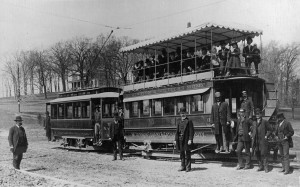 OLD TROLLEY TO BROOKLAND